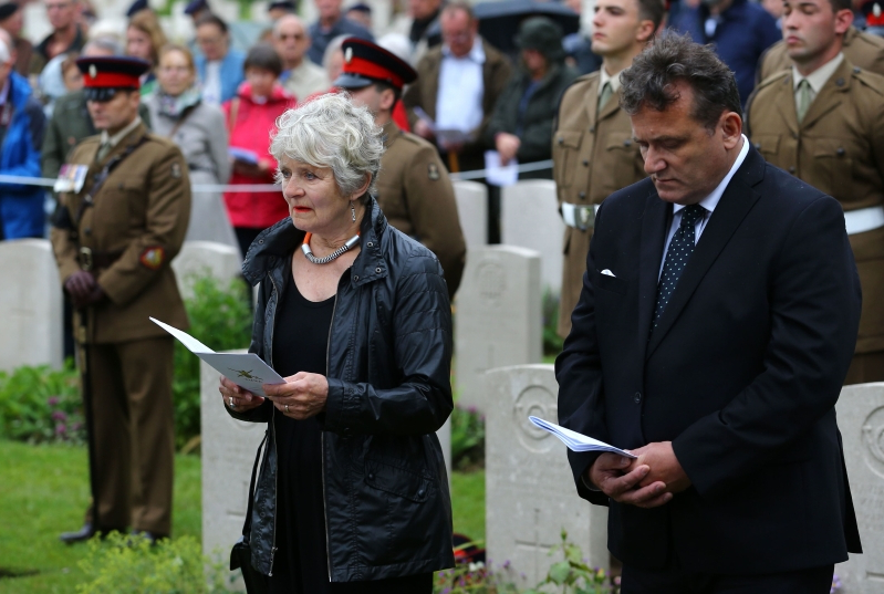 Soldiers killed in WWI buried after finally being identified