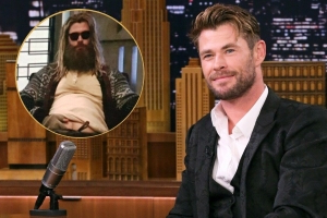 Watch Chris Hemsworth Perform Johnny Cash's 'Hurt' as Fat Thor in 'Avengers: Endgame' Behind-the-Scenes Clip