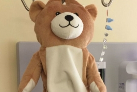 A 12-Year-Old Designed a Teddy Bear to Make IV Infusions Less Scary for Kids