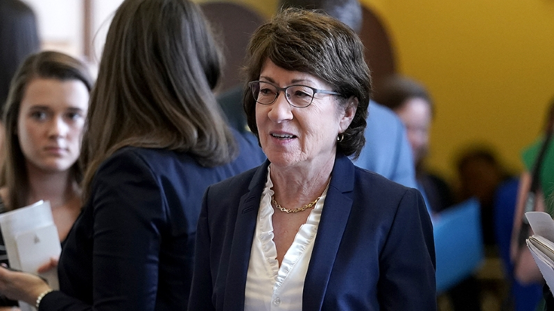 Democratic challenger to Susan Collins announces Senate bid
