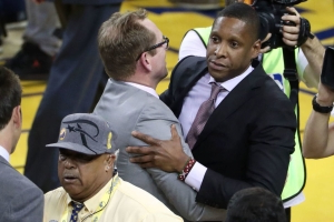 Police pursuing complaint against Ujiri after confrontation with cop