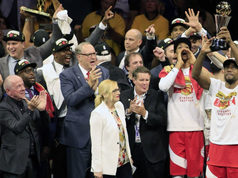 Raptors to hold championship parade Monday