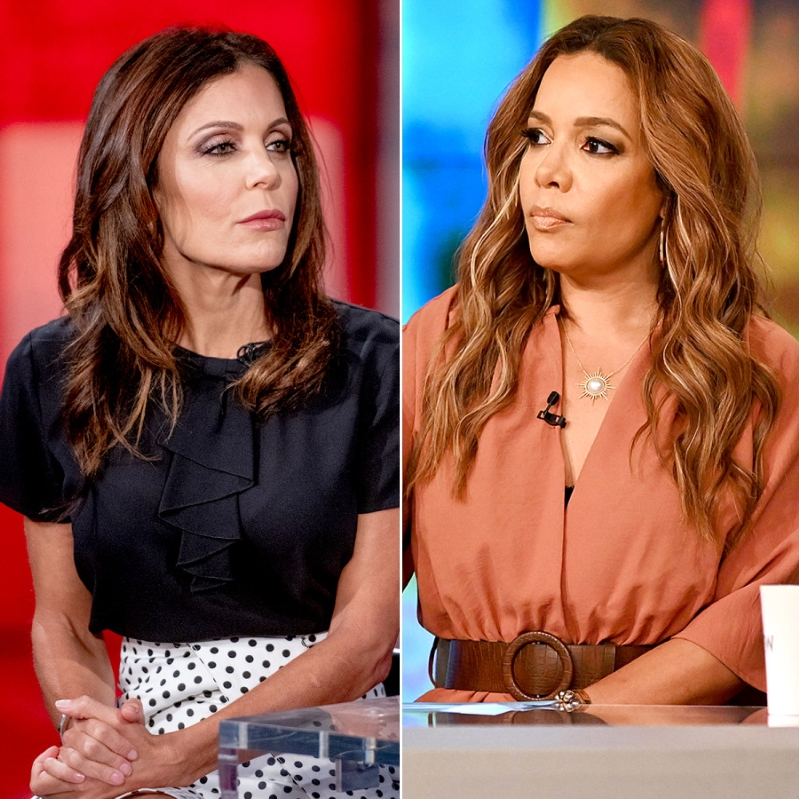 Entertainment: The View's Sunny Hostin Slams Bethenny