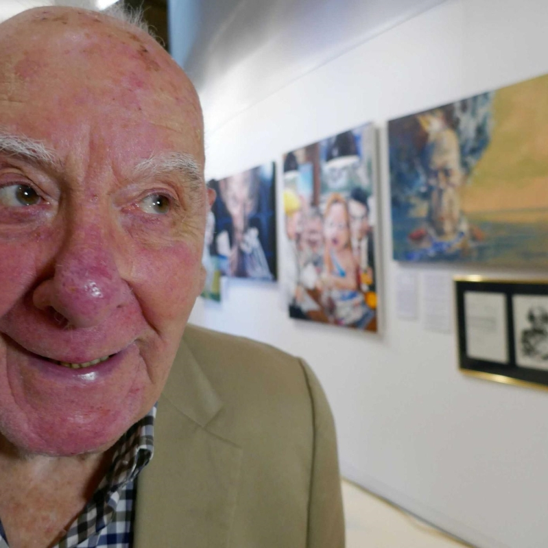 Bald Archy Prize founder Peter Batey dies aged 85