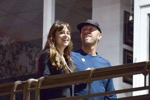 Chris Martin and Dakota Johnson 'SPLIT': Coldplay rocker, 42, 'parts ways' with Fifty Shades star, 29, to end their two-year romance - four years after his 'conscious uncoupling' from Gwyneth Paltrow
