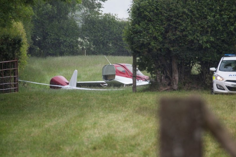 Investigation underway after two men die in horror plane crash near Moone, Co Kildare