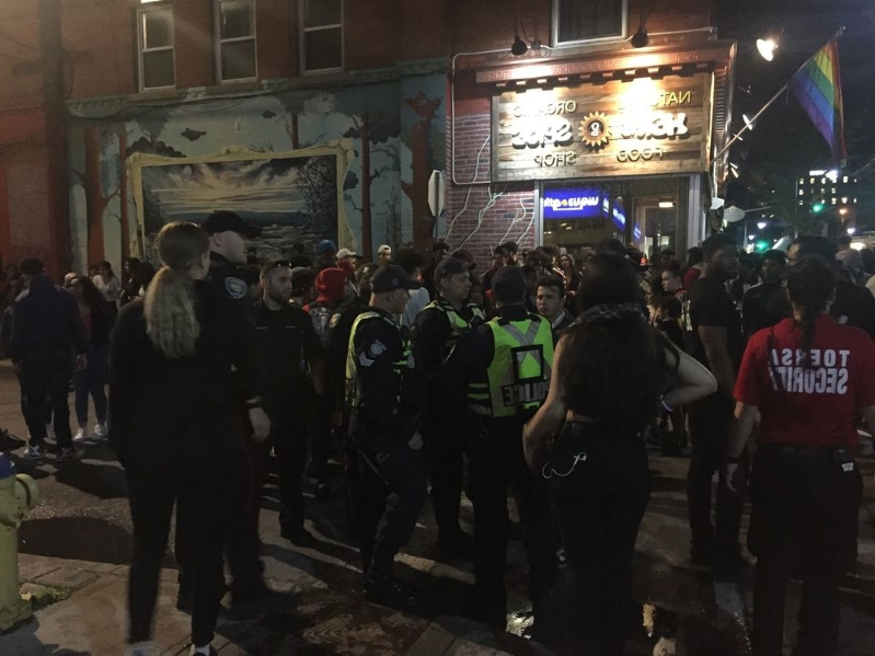 Ottawa police discharge pepper spray, arrest boy at Glowfair Friday night