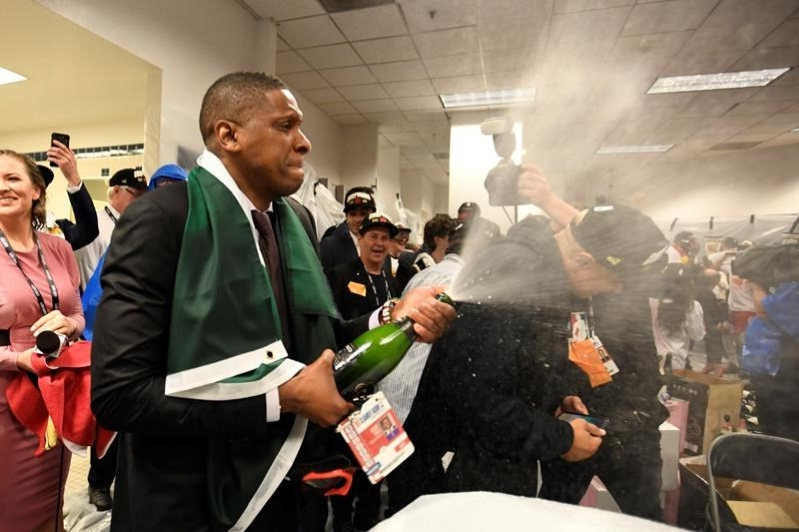 Raptors president Masai Ujiri accused of assaulting sheriff's deputy in Oakland