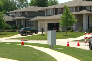 Four people found dead in an Iowa house with apparent gunshot wounds, police say