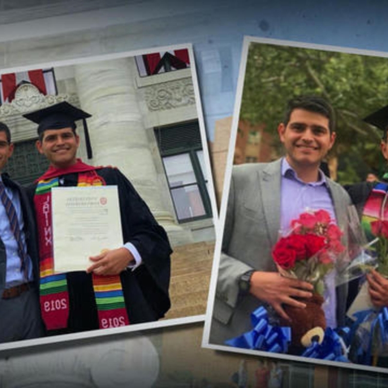 Immigrant twins graduate from medical school — one day apart