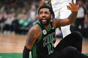 Kyrie Irving has been itching to play with Anthony Davis 'for months'?