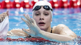 Penny Oleksiak adds to Canadian women gold-medal haul in pool