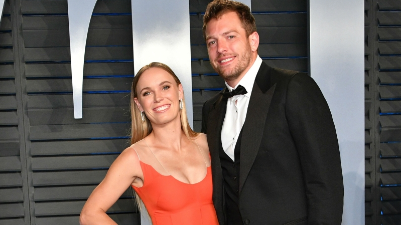 Caroline Wozniacki, David Lee marry; star athletes in wedding party