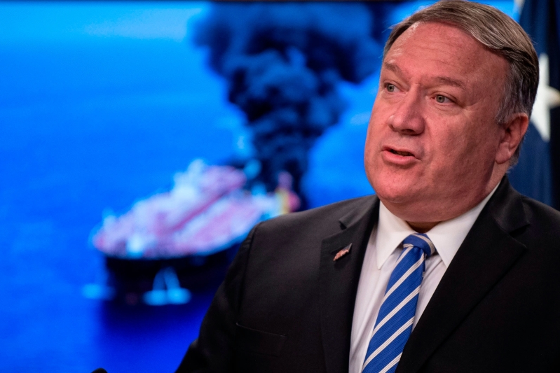 Pompeo says there is more evidence that Iran attacked tankers