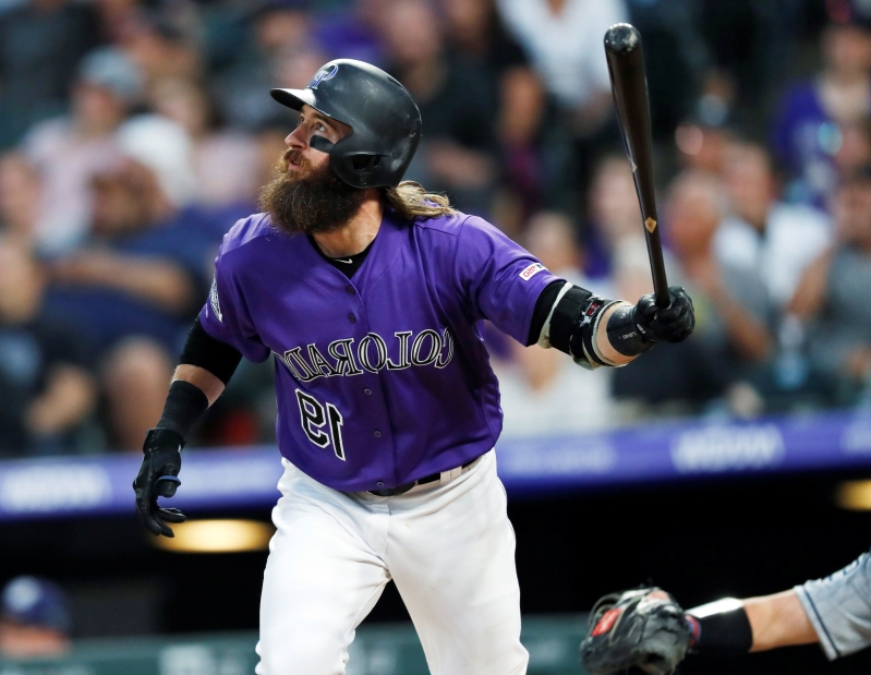 Rockies, Padres shatter record with 92 runs in four-game series