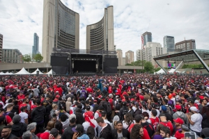 Bruce Arthur: Toronto responds like a champion when celebration turns to chaos