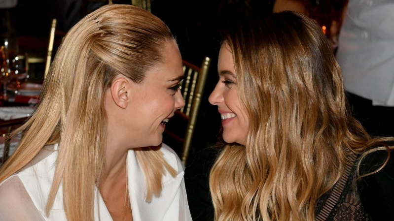 Entertainment Cara Delevingne Confirms 1 Year Relationship With