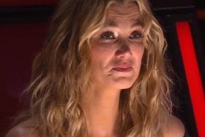Delta Goodrem just walked off set in tears in the most heartbreaking Voice episode ever