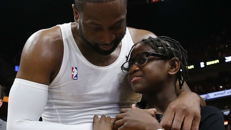 Sport: Dwyane Wade responds to criticism of supporting son during