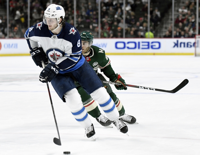 Fiancee's career played role in Trouba's trade to Rangers