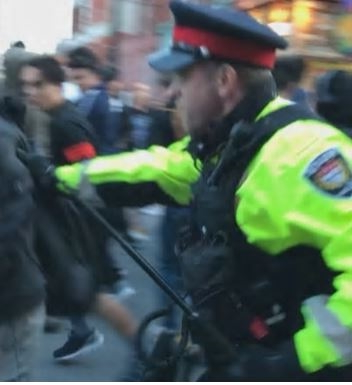 Girl, 13, charged with assaulting police officer at Glowfair