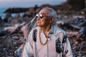 'His fashion sense is better than mine!' 84-year-old Japanese man becomes an unlikely viral style star after his grandson started snapping VERY chic photos of him modeling trendy designer clothes
