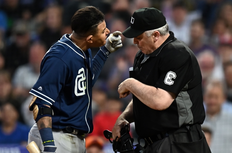 Manny Machado suspended by MLB after tirade against umpire