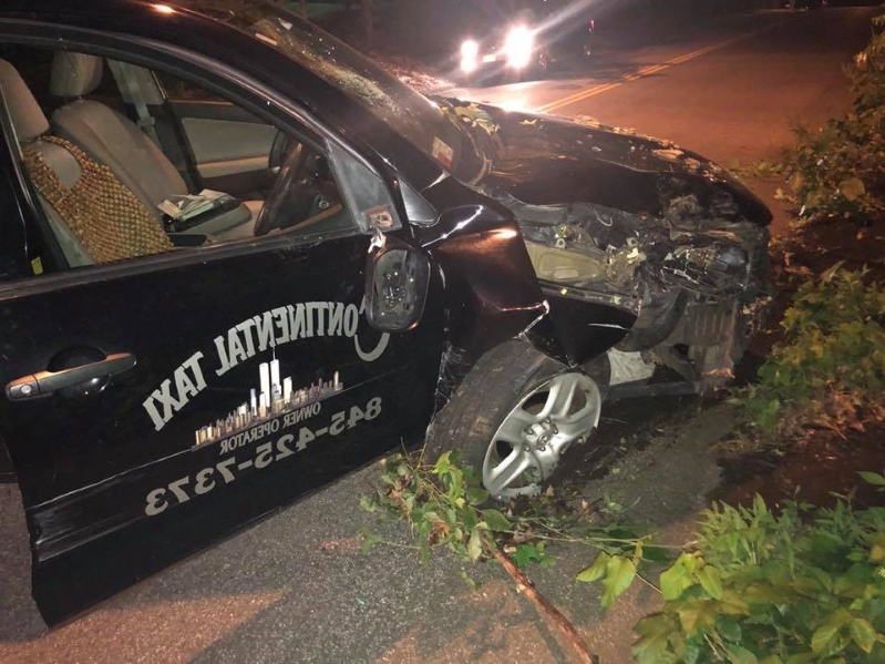 Police ID Spring Valley man accused of drunken taxi theft, crash