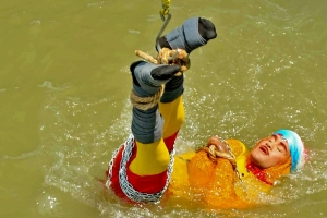 Stuntman found dead after magic trick in River Ganges goes wrong