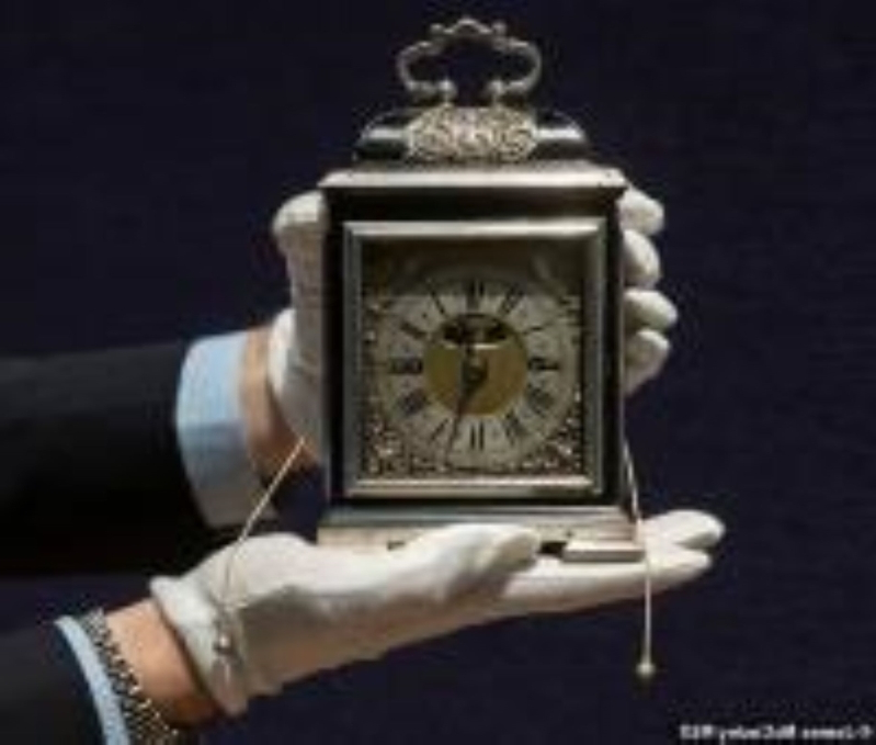 Vintage table clock made for Mary II more than 320 years ago is expected to fetch £2 MILLION at auction