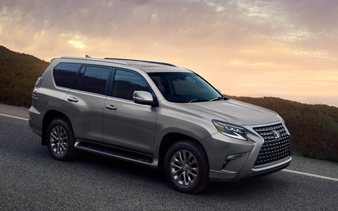 News: Lexus improves off-road prowess of GX 460 - PressFrom