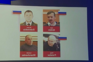 Who are the four men charged with downing of MH17?