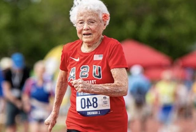 103-Year-Old Julia 'Hurricane' Hawkins Just Set a New World Record for 50-Meter Dash
