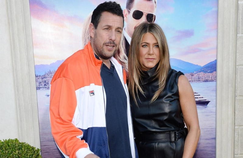 Entertainment: Adam Sandler urges Jennifer Aniston to make