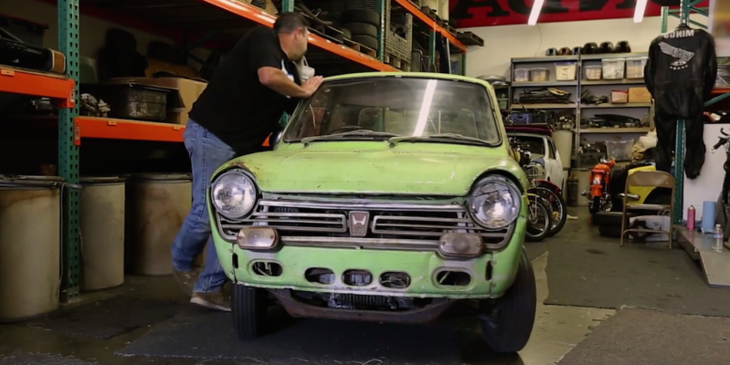 Honda Restores the Very First Car it Brought to America