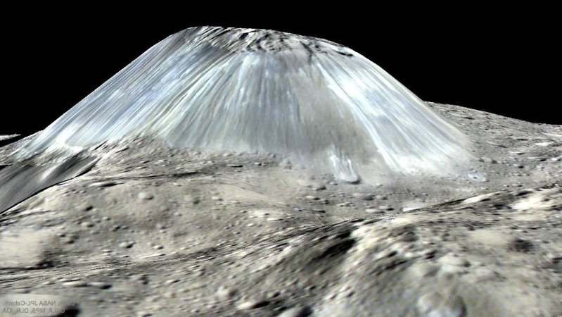 Mountain of ice on asteroid 'is like nothing humanity has ever seen before'