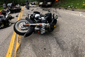 7 dead in crash between truck, motorcycles in New Hampshire