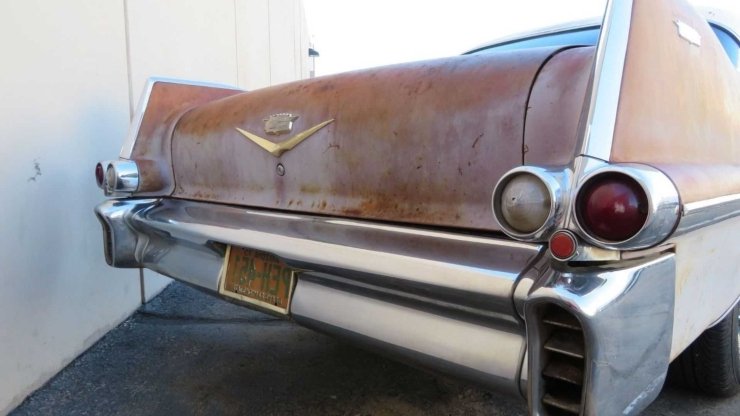Arizona Barn Find 1957 Cadillac Coupe DeVille Is A Cool Project Car