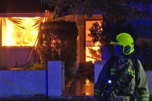 Man feared dead after fire destroys Sydney home