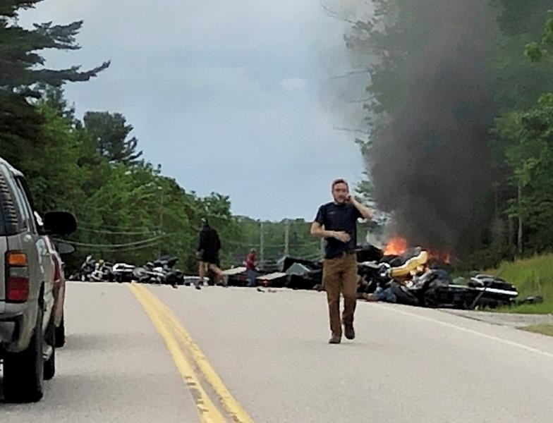 Travel The Latest Hundreds Of Bikers Gather After Deadly Nh Crash
