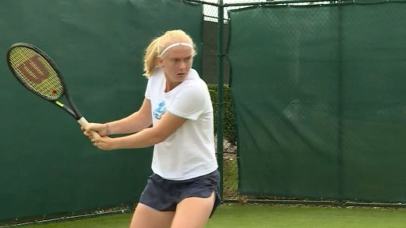 Wimbledon wild card with genetic disorder has 'no limits'