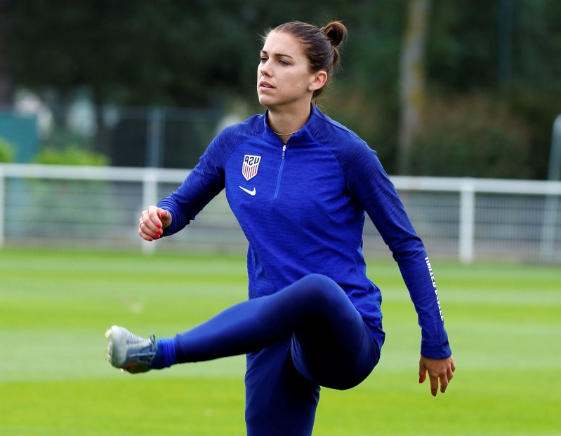 Women's World Cup: Banged-up USWNT stars Alex Morgan and Julie Ertz expected to play against Spain
