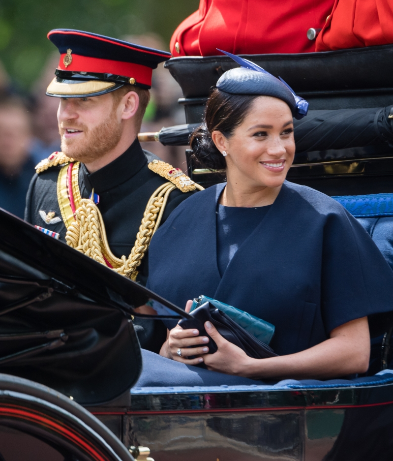 Style: Duchess Of Dazzle: Meghan's New £4,350 Eternity