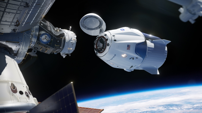 NASA just set preliminary dates for its commercial crew launches, with SpaceX in the lead