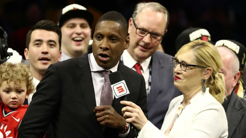 Sheriff's office claims to have photos of Masai Ujiri striking deputy at Oracle Arena