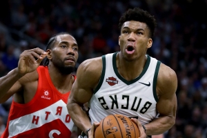 Bucks' Antetokounmpo earns NBA MVP