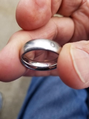 Mystery of fish caught with wedding ring attached solved