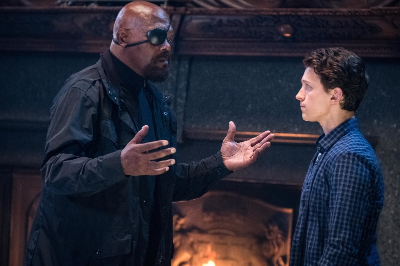 Samuel L. Jackson calls out Spider-Man: Far From Home poster that flips Fury's eyepatch