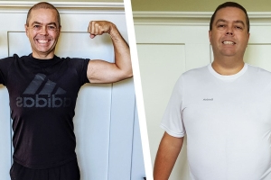 Training Like Chris Pratt Helped This Guy Lose 75 Pounds and Survive a Heart Attack
