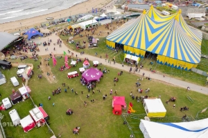 Woman suffers severe injuries in cliff fall after Sea Sessions festival